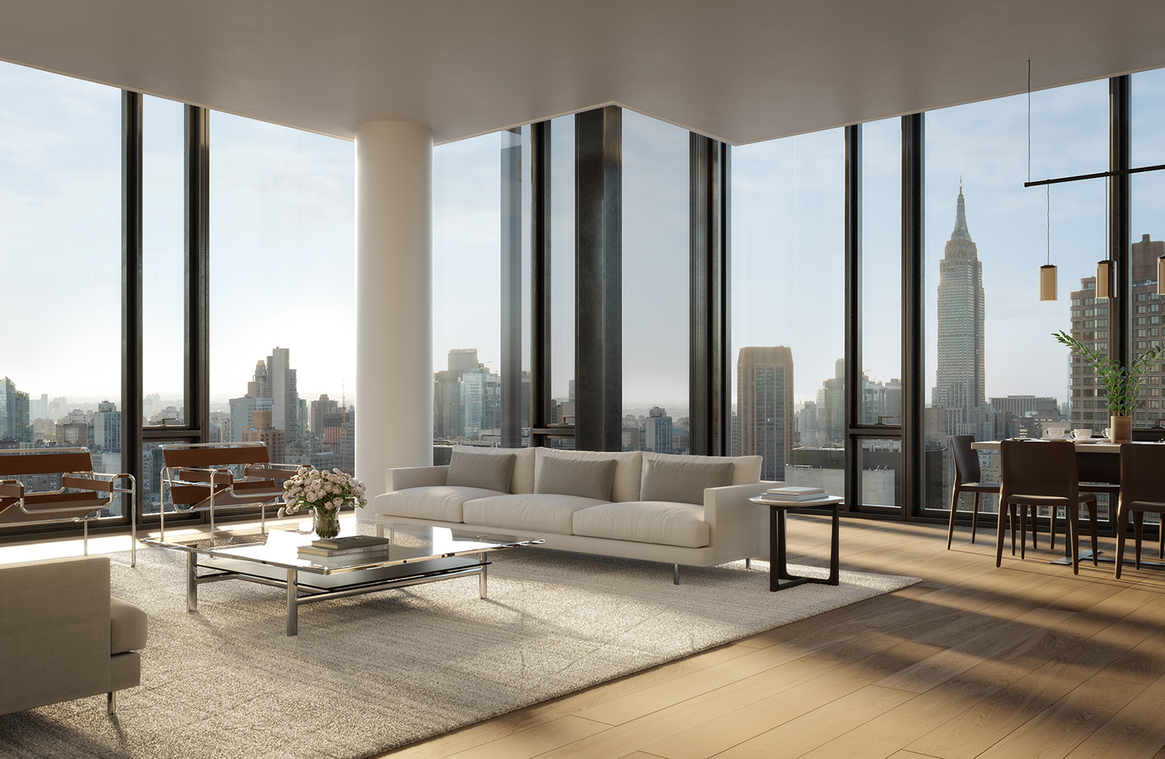 Condos with View of Empire State Building